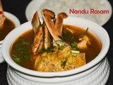 Nandu Rasam / Spicy Crab Soup