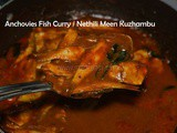 Nethili Fish curry recipe | Anchovies Meen Kuzhambu without coconut