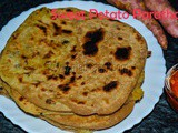 Sweet Potato Paratha with video