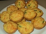 Jalapeno Corn Muffins with Cheese