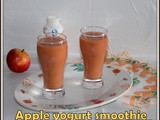Apple yogurt smoothie | Apple honey yogurt smoothie for kids | break fast apple smoothie | Quick and easy yogurt smoothie for break fast