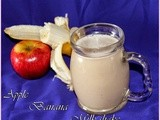 Banana apple milk shake/healthy juices for kids/break fast drinks/beauty tips of banana/my recent best photoshoot/archive post with new pictures