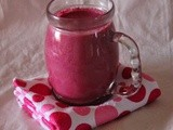 Beet root yogurt smoothie/Diet drinks/Mahas own recipes/Beat over weight with beets/Mahas own recipes