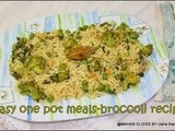 Broccoli peas pepper rice/Easy indian style broccoli pepper rice/south indian rice recipes