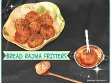 Brown  kidney beans bread deep fried fritters/rajma bread balls/bobbarla vada/easy indian evening snacks/feijão vermelho  pão frita  bolas/step by step pictures/easy indian appetizers/vegetarian spicy starter recipes