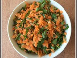 Carrot Parsley Salad | Parsley Salad | Salad for Lunch | Quick and Easy Salad Recipes | Salad Recipes