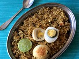 Chettinad Style Egg Biryani | Chettinad Egg Pulao Recipe | Easy Egg Biriyani with Normal Rice