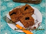 Chocolate coffee cake/snack cake for kids/butter milk olive oil coffee cake using cholate vermicelli