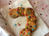 Chocolate Gem Cookies | Rainbow Gems Cookies Recipe | Cookies Recipes For Kids