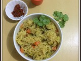 Coconut Milk Semiya Upma | Vermicelli Upma With Coconut Milk | Coconut Milk Vegetable Semiya Upma | Simple Dinner Ideas
