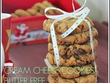 Cream cheese chocolate olive oil cookies/butter free polenghi cream cheese cookies/cream cheese recipes/quick and easy christmas cookies recipes/no butter cookies/mahas own recipes/step by step pictures