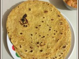 Dal Paratha | Dal ka paratha | Healthy Indian flat bread recipes | Indian easy roti /paratha recipes