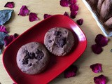 Dark Chocolate Cookies | Healthy dark chocolate cookies | Dark chocolate chunk cookies | Chocolate cookies for kids