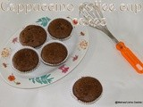 Egg free butter free coffee cappuccino cup cakes/no egg no butter low calorie coffee muffins/egg less baking/fri day guest post  in kaveri`s pallakad chamayal