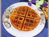 Healthy Gluten Free Oats Flour Banana Waffles | Easy Banana Waffles Without Flour | Quick and Easy Banana Waffles | No Flour Waffles Recipes