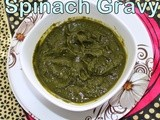 How to make basic spinach puree for gravies | Spinach gravy using frozen spinach | simple,easy palak puree for gravies | Home made basics