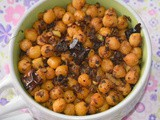 Kabuli chana fry | stir fried chana | spicy chana fry | kabuli chana stir fry | chickpea recipes