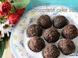 Leftover chocolate cake coconut balls | leftover chocolate cake recipes | cake balls | choco coconut balls