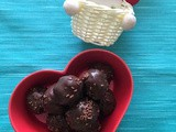 Leftover Chocolate Cake Truffles | Cake Balls Using Chocolate Cake | Leftover Chocolate Cake Recipes
