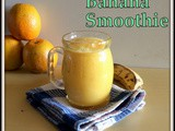 Mango Orange Banana Smoothie | Smoothies Receitas | Easy Healthy Smoothie Recipes | Mixed Fruit Yogurt Smoothie Recipes