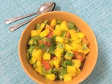 Mango Salsa Recipe | How To Make Mango Salsa | Mango Salad Recipes | Mango Salad Recipes | Easy Dinner Ideas | Weight Loss Recipes