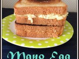 Mayonnaise Egg Sandwich | Breakfast Mayo Egg Sandwich | Mayo Sandwich For Breakfast | Quick and Easy Sandwich Recipes