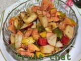Mixed fruit chat/Indian style spicy tangy mixed fruits salad/easy dinner recipes