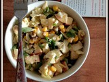 Mixed vegetable apple salad