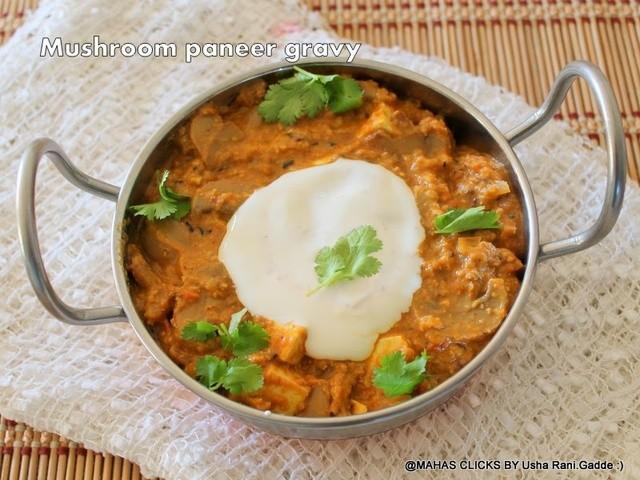 mushroom-paneer-spicy-cashew-masala-canned-mushroom-ricotta-cheese ...