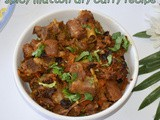 Mutton dry curry | dry mutton curry recipe | lamb curry recipe | mutton recipes | lamb meat recipes