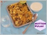 Mutton pulav/lamb pilaf/easy mutton pilaf with dry friuts and nuts/arroz carneiro/lebanese restaurant style mutton  rice with indian touch/south indian non vegetarian rice recipes/ with step by step pictures/happy new year 2014/