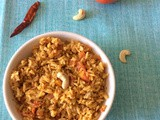 Mysore Style Tomato Rice Recipe | How to Make Masala Tomato Rice | One Pot Meals | Kids Lunch Box Ideas | Rice Recipes For Lunch