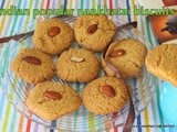 Naankhatai | Indian popular eggless sooji biscuits | eggfree chick pea flour cookies |