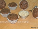 Oats cinnamon cup cakes/no butter oats muffins/easy oat bran muffins with olive oil/sem manteiga  bolo de aveia