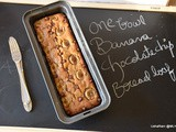 One bowl banana chocolate chip bread loaf | one bowl banana chocolate chip bread recipe | one bowl cake recipes