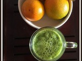 Orange Green Juice | Orange Parsley Juice | Orange Breakfast Booster | Juices for Breakfast | Juice for Weight loss