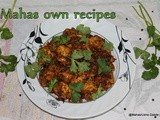 Pepper chicken/miriyala kodi kura/guest post at sweet n spices