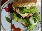 Quick and Easy Chicken Burger | Fried Chicken Burger | Chicken Burger Recipes | Hamburguer de Frango Caseiro