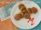 Sago(sabudana) potato green peas  deep fried fritters/saggubiyyam aloo batani vada/quick and easy indian appetizers/step by step pictures