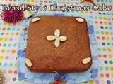 Sao Paulo Style Butter less Christamas Fruit Cake | Fruit Cake With Rum Soaked Dry Fruits And Nuts | Christmas Cakes