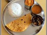 Simple South Indian Lunch Menu-1 | Simple Vegetarian Thali | Lunch Menu Ideas | Easy South Indian Thaali Recipes | Quick and Easy Veg Full Meals Recipes |