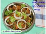South indian style spicy basic mutton curry/lamb curry/indian non vegetarian recipes/receitas de carneiro