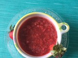 Strawberry Sauce Recipe | Homemade Strawberry Sauce | How to make Strawberry Sauce