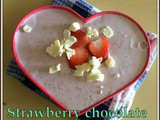 Strawberry White Chocolate Mousse | Strawberry Desserts| White Chocolate Desserts | Mousse Recipes With Gelatin
