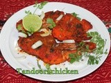 Tandoori chicken/Restaurant style Baked tandoori chicken/step by step pictures/How to make tandoori chicken with thigh pieces in oven at home