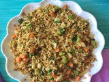 Vegetable Egg Fried Rice Recipe | Egg Fried Rice Recipe | How to make egg fried rice | Leftover Rice Recipes | 10 Fried Rice Recipes