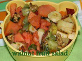 Walnut Mixed Fruit Salad | Fruit Salad For Weight Loss | Quick And Easy Fruit Salad Recipes For Weight loss | Diet Recipes