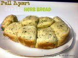 Pull Apart Garlic Herb Bread