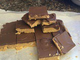 Almost Reese's Peanut Butter Cup Bars