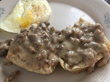 Biscuits and Sausage Gravy
